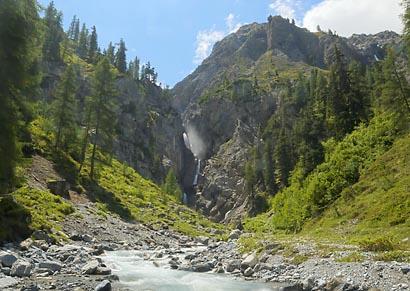 """""""Sertig Wasserfall"""" Copyright TillErdmenger"""