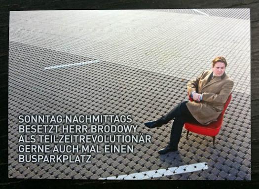 Für Werbekarte verwendetes Businessportrait © Till Erdmenger – Business Photographie