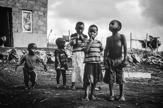 Kinder in Südafrika © Till Erdmenger