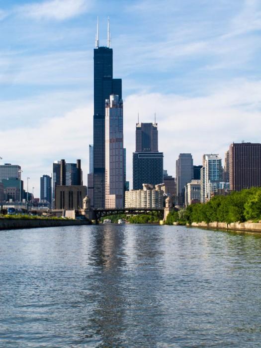Chicago Skyline © Till Erdmenger – Businessfotos