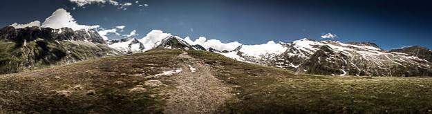 Panorama Rotmoosgletscher, Ötztal © Till Erdmenger – Businessfotos