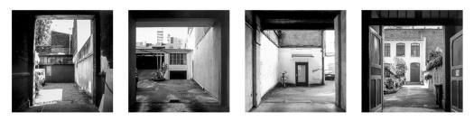 """Aus der Serie """"Hinterhöfe"""", Düsseldorf, 2000/2001 © Till Erdmenger – Businessfotos"""