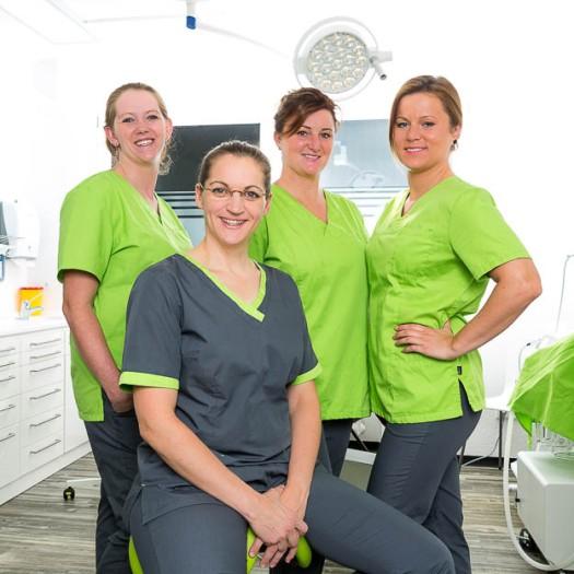 Team einer Arztpraxis © Till Erdmenger – Businessfotos