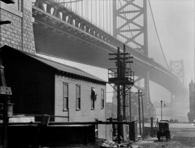 Bridge and Carriage, Philadelphia, USA, 1926