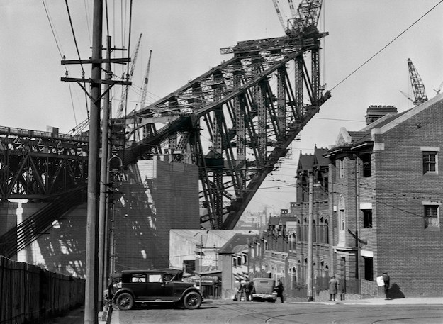 Sydney Harbour Bridge from the North Side, Australia, 1930